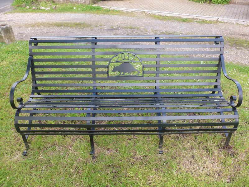 Garden Memorial Benches Abbott Street Forge