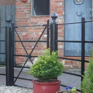 iron handrails Dorset