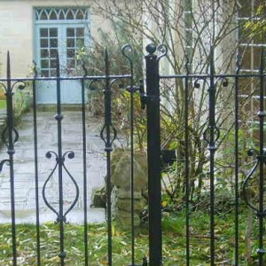 Wrought Iron Gates, Dorset